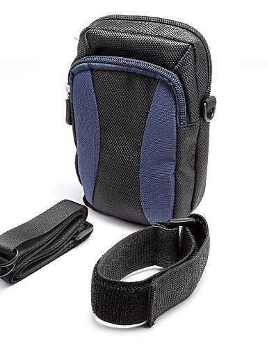 ZQ Outdoor Aktivitäten 14cm Diagonal Universal Serial Farbe Arm Band Aufhängen Tasche Taille Bergsteigen (verschiedene Farben) schwarz - schwarz