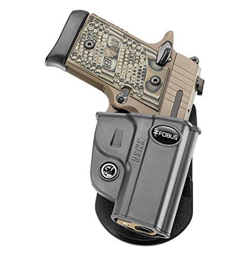Sig P238 Sauer Holster (Fobus Neues Design KMSG verdeckte Trage Retention Pistolenhalfter Holster für Sig Sauer P938 & P238)