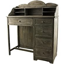 bureau secretaire bois. Black Bedroom Furniture Sets. Home Design Ideas