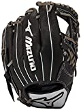 "Mizuno Premier Baseball Glove, Black, 12"", Worn on left h"