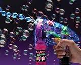 Bubble Pistola Pistola della bolla LED Suono Bolle di sapone pistola