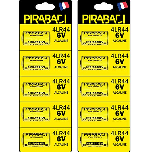 10teilig 4LR446V Batterien Alkaline ohne Quecksilber PX284G13, 476A L1325, a4034px für die Fernbedienung, Laser rot, Stop Barking, Schönheit Alkaline-laser
