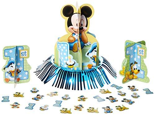 Pluto Disney Kostüm (Mickey 1. Geburtstag Tabelle Dekorieren)