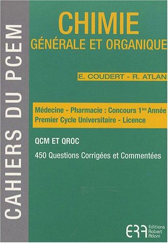 Chimie générale et organique