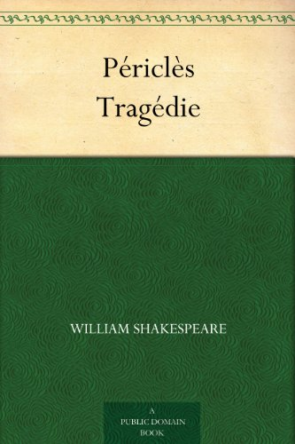 Couverture du livre Périclès Tragédie