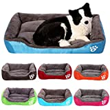 Yxczhis Pet Dog Supplies Pet Dog Cat Soft Cotton Warm House Kennel Bed Puppy Cushion Nest Mat Blanket