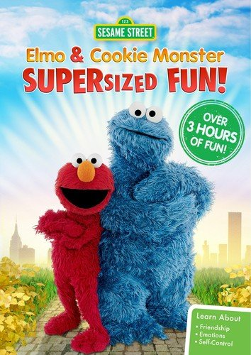 Elmo and Cookie Monster Supers [DVD-AUDIO]
