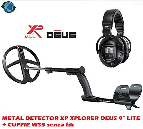\'Metal Detector XP Xplorer Deus 9Lite + auriculares WS5sin hilos