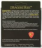 DR Strings DRAGON SKIN 11-50 Jeu de Cordes pour Guitare Acoustique