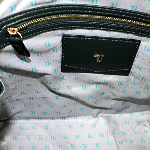 Trussardi Jeans 75B573 Henkeltaschen Damen Synthetisch Grün