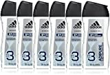 adidas Adipure Gel de Ducha for Him, 6 pack (6 x 250 ml)