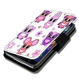 Book Style Flip Handy Tasche Case Schutz Hülle Schale Motiv Etui für Wiko Jimmy - Flip X16 Design4