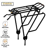 Ibera PakRak Bicycle Touring Carrier Plus+ Carrier Rack...