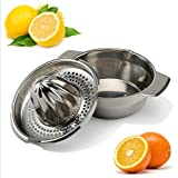 Stainless Steel Citrus Orange Juicer Lemon Lime Fruit Hand Squeezer Kitchen Tool(KT0048)