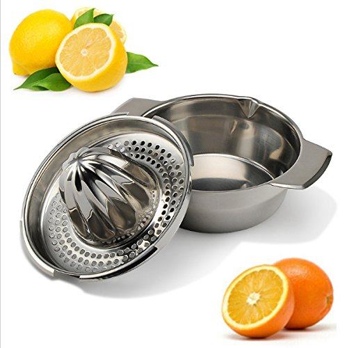 acier-inoxydable-presse-agrumes-manuel-fruits-presse-citron-avec-bol