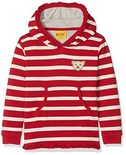 Steiff Baby-Mädchen Sweatshirt 1/1 Arm, Rot (y/d Stripe|Multicolored 0001), 74