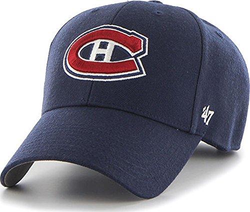 Montreal Canadiens 47 Brand MVP Adjustable Navy Blue NHL Cap (Canadiens Montreal Caps)