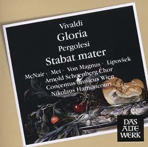 Vivaldi: Gloria / Pergolesi: Stabat Mater