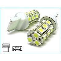 Lampada Led T20 W21W 7440 18 Smd Bianco Luci Frecce Retromarcia 12V