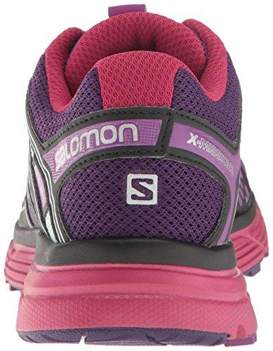 Salomon X-Mission 3 W, Chaussures de Trail Femme Acai/Sangria/Fair Aqua