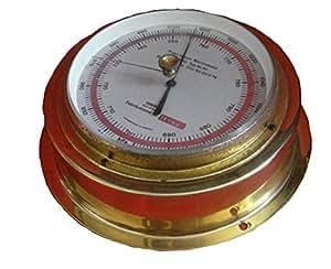 Sundo Marine Barometer, hochwertigem Messing - 61-Typ Germany