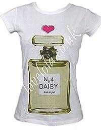 Love Lola - T-shirt -  Femme Blanc Blanc -  Blanc - Blanc - S