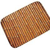 AMDXD Flanell Teppich Dunkel Bambus Reihe Design Teppiche für Wohnzimmer Küche Bunt 90x60CM