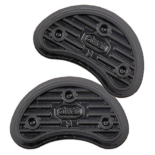 99783a475a Baoblaze Semelle Antidérapant Talon de Chaussures en Caoutchouc Accessoire  de Réparation