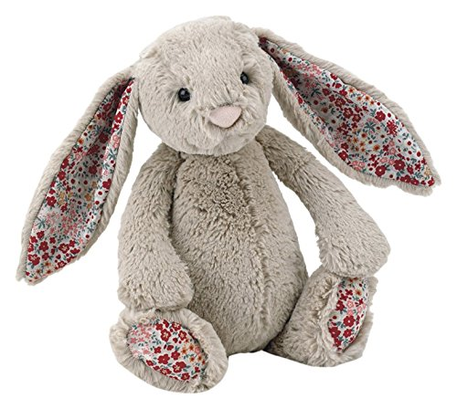 Image of Jellycat - Blossom Bashful Bunny Beige - Baby Soft Toy small - 18cm