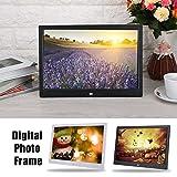 Swiftswan HD Digital Photo Frame Elektronisches Album 17-Zoll-Front-Touch-Taste Mehrsprachige LED-Bildschirm Bild Musikvideo