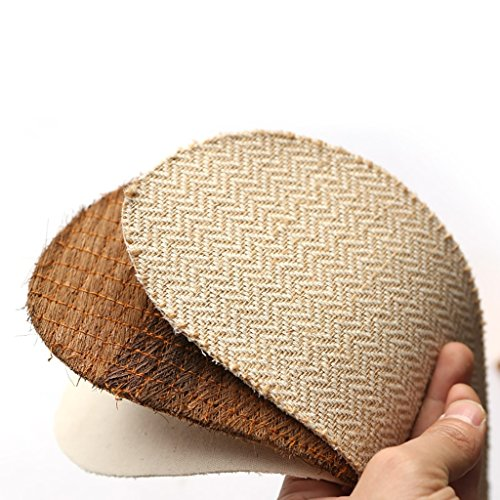 Chaussons Pantoufles de sueur déodorant été printemps et lautomne hiver linge de maison lin sandales hommes et femmes saisons intérieures pantoufles minces ( Couleur : A , taille : 25-25.5cm ) A