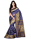 Livery Cotton Silk Saree (Lt_Kasturi_Blue_Blue)