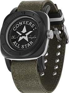 Converse Unisex Black Case Green Canvas Bracelet VR026-280