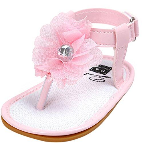 Sandals Rose Mädchen Etrack online Baby Lauflernschuhe AwxCT0Pq