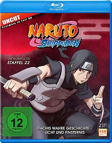 Naruto Shippuden - Staffel 22: Itachis wahre Geschichte - Licht und Finsternis (Folgen 671-678) [Blu-ray] (Naruto Shippuden Anime)