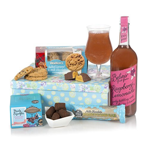 Birthday Hamper - Birthday Hampers For Her - Thank You, Birthday Gift Baskets For Your Mum or Loved One