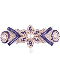 Accessher Designer Studded Back Hair Clip/ Hair Barrette/ Hair Pin Hair Accessories For Women - B074Y1X5CM