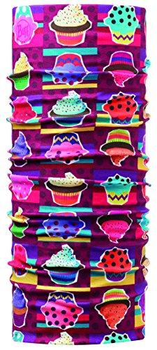 Junior Buff Mädchen Multifunktionstuch Original,mehrfarbig,Cupcake,One size,108147