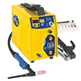 GYS - Inverter di saldatura professionale WIG per elettrodi 160 A, TIG 160 DC - LIFT, Giallo