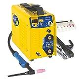 GYS WIG- und Elektroden-Schweißinverter 160 A, Lift Zündung, gelb, TIG 160 DC - LIFT