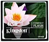 Kingston 4GB Compact Flash Karte CF/4GB