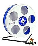 "Ø 20 cm Wodent Wheel™ JUNIOR – ""RoboWheel"" weiss/dunkelblau"