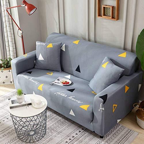 Elastische Stretch Sofabezug, Sofaüberwurf rutschfest Waschbar Sofa Handtuch Sofamöbel Protector Für Sesselbezug Kind Sofa Abdeckung-Einzelsitz90~140cm-CH