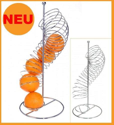 Excellent Houseware Design di arance titolare Orange Dispenser cromato–Cesto portafrutta cestino cesto di frutta Idea Regalo