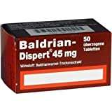 Baldrian-Dispert 45 mg Tabletten, 50 St.