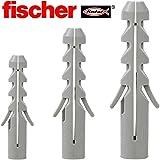 Fischer Dübel S6 (100 Stück) - Nylondübel Spreizdübel Allzweckdübel Universaldübel