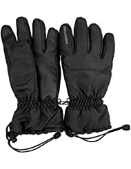 Highlander Mens Waterproof Breathable Insulated Fleece Ski Gloves