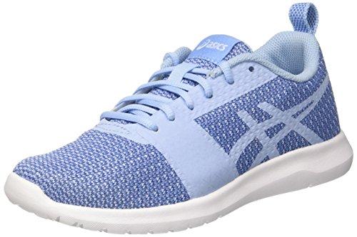 Asics Kanmei, Zapatillas de Entrenamiento Mujer, Multicolor (Airy Blue/Airy Blue/Regatta Blue), 36 EU
