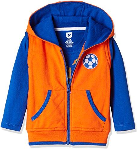 612 League Baby Boys' T-Shirt (ILW16I35018_Orange_3-6 months)