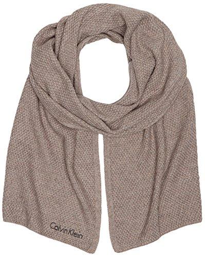 Calvin Klein Jeans Damen Schal EMMA 2 SCARF, Gr. One size, Grau (FUNGI 094) (Emma Damen-jeans)